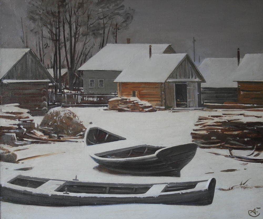 Лодки-зимой-нов.
